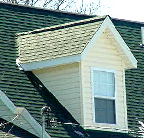 Make a net for a gable for Gable roof addition